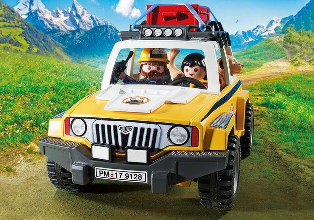 Salvatori montani cu camion playmobil action - 1