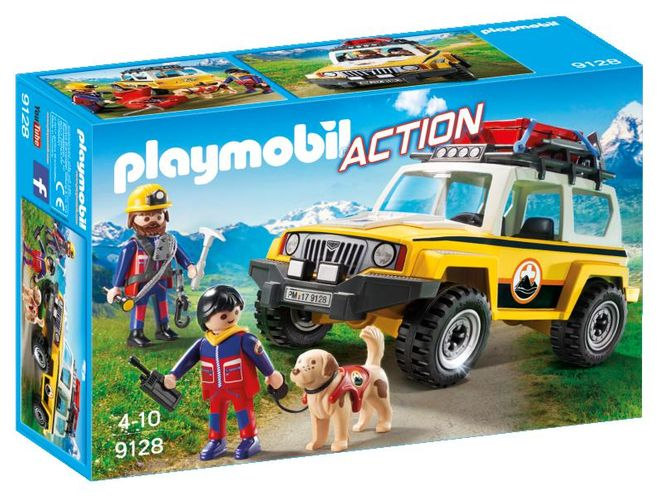 Salvatori montani cu camion playmobil action