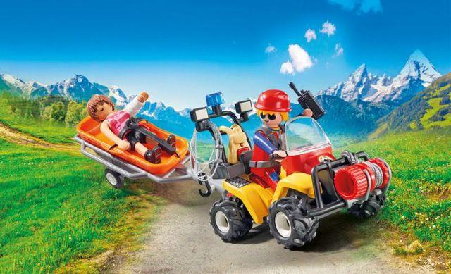 Salvatori montani cu targa playmobil action - 3