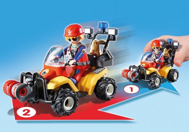 Salvatori montani cu targa playmobil action - 2