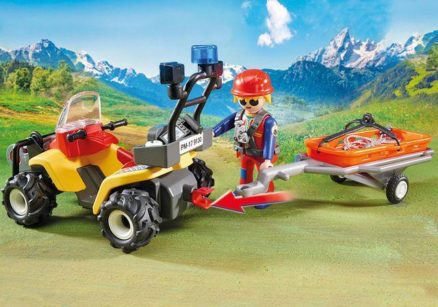 Salvatori montani cu targa playmobil action - 1