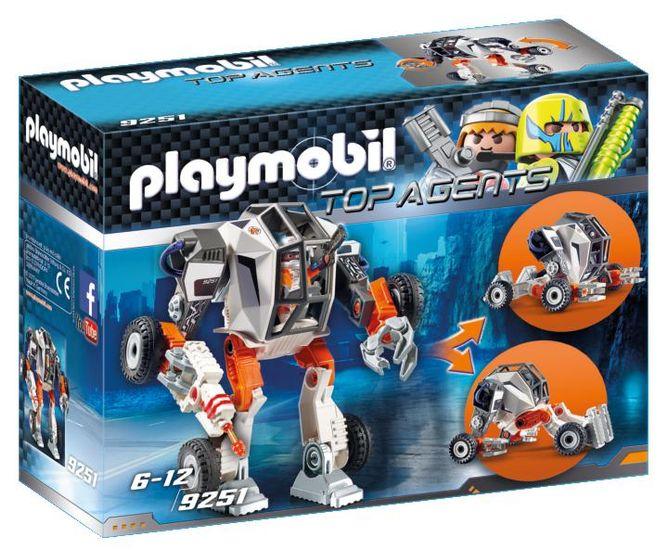 Robotul agentului t.e.c. playmobil top agents
