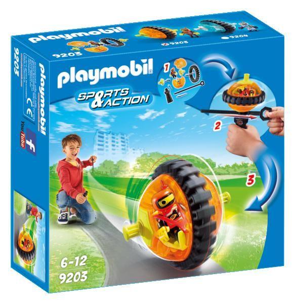 Titirez portocaliu playmobil sports action imagine