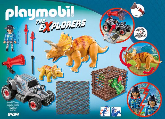 Automobil si triceratops playmobil the explorers - 1