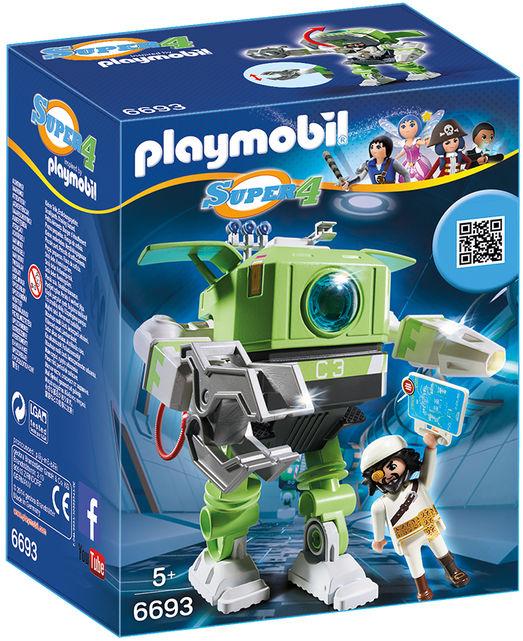 Robot cleano playmobil super4 imagine