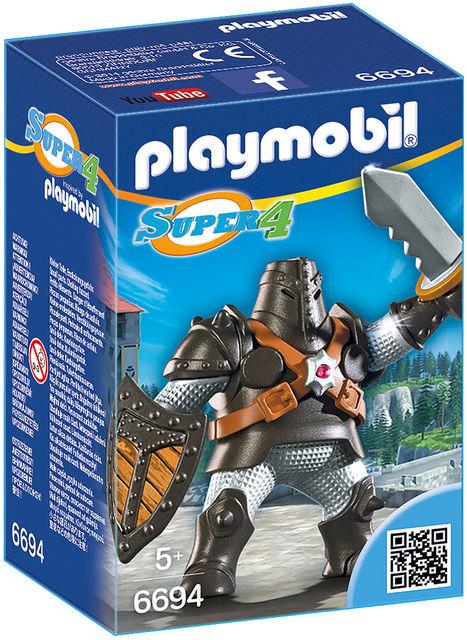 Uriasul negru playmobil super4 imagine