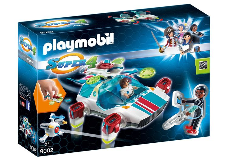 Agentul gene playmobil super4 imagine