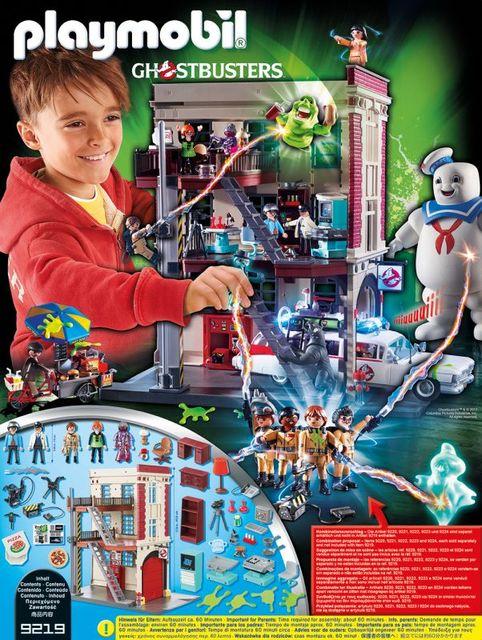 Sediul central playmobil ghostbusters - 1