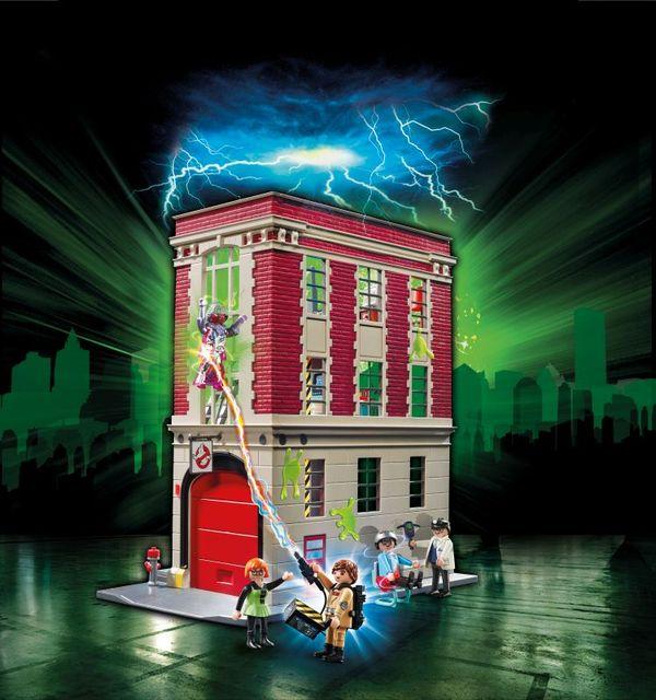 Sediul central playmobil ghostbusters - 2
