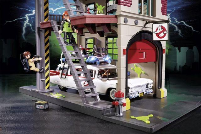 Sediul central playmobil ghostbusters - 3