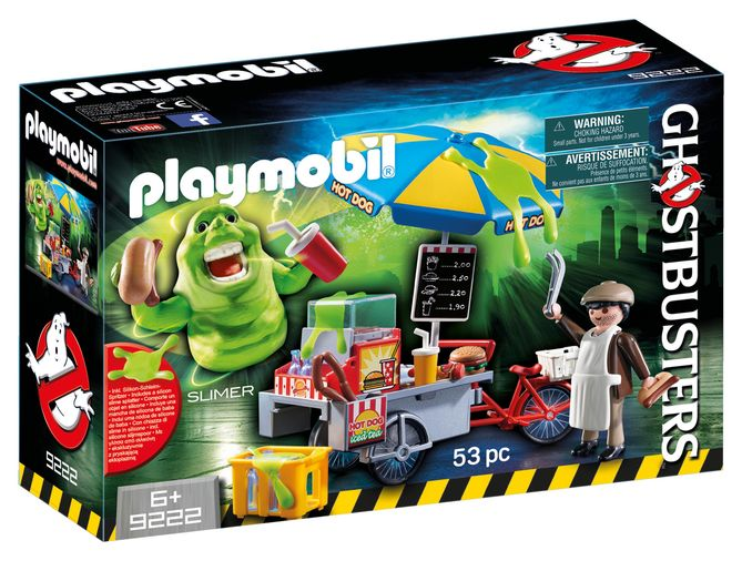 Slimmer si stand de hot dog playmobil ghostbusters