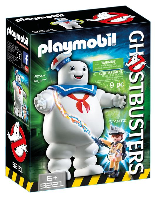 Stay puft marshmallow playmobil ghostbusters