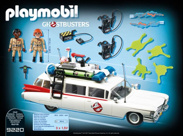 Vehicul ecto-1 playmobil ghostbuster - 1