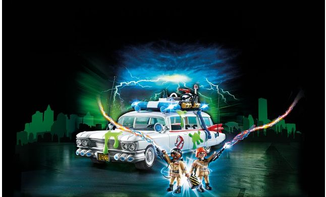 Vehicul ecto-1 playmobil ghostbuster - 2
