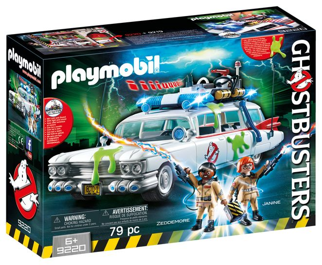 Vehicul ecto-1 playmobil ghostbuster
