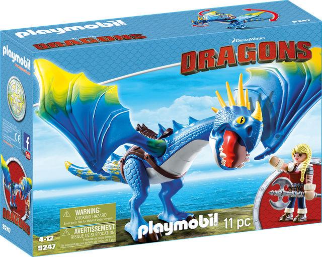 Astrid si stormfly playmobil dragons