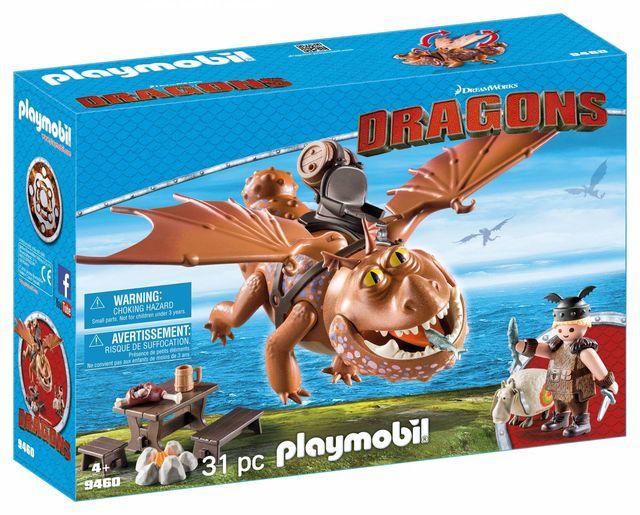 Fishlegs si meatlug playmobil dragons