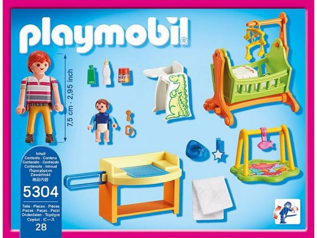 Camera bebelusului playmobil doll house - 1