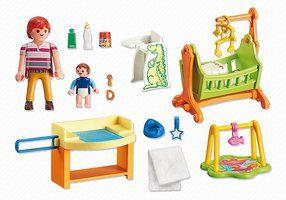 Camera bebelusului playmobil doll house - 2