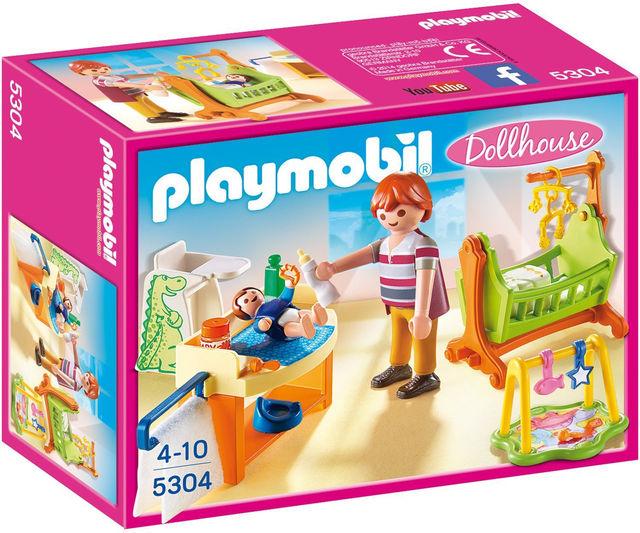 Camera bebelusului playmobil doll house