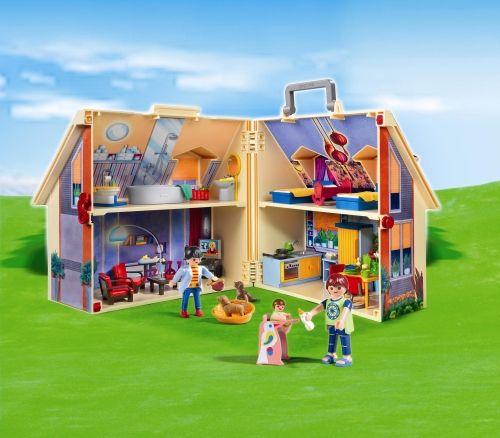 Casa de papusi mobila playmobil doll house - 1