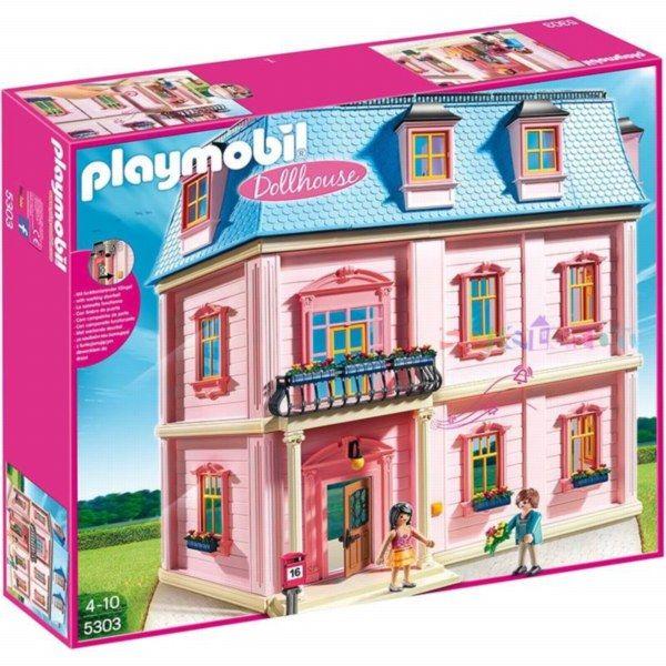 Casa de papusi playmobil doll house imagine