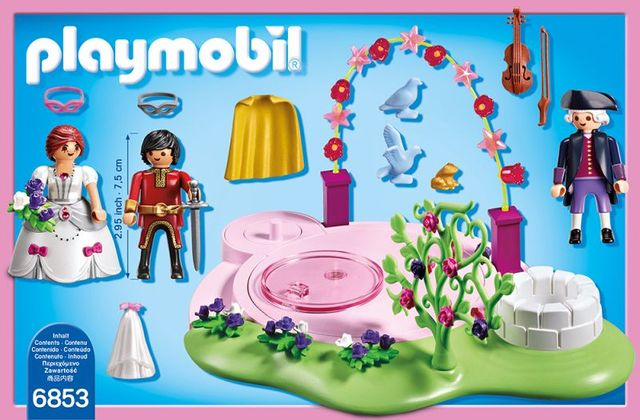 Bal mascat playmobil princess - 1