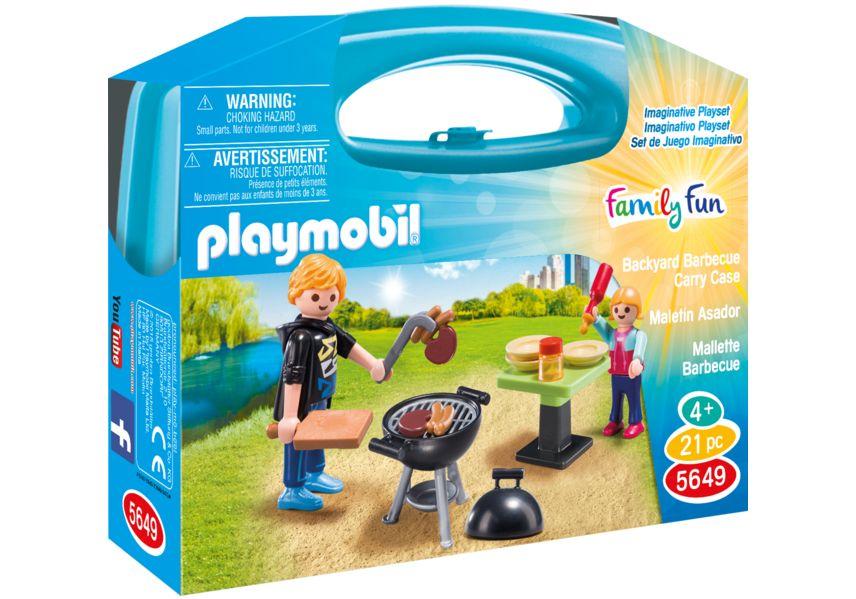 Iesire la gratar set portabil playmobil family fun