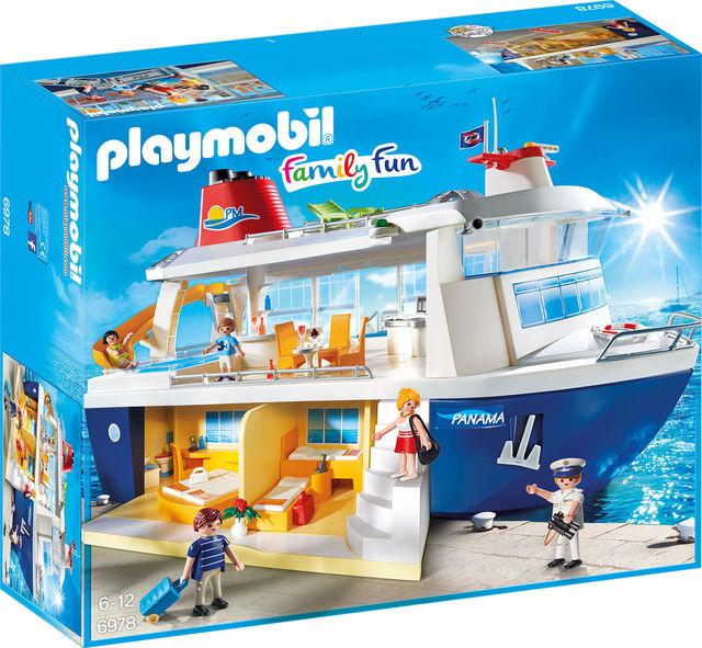 Nava de croaziera playmobil family fun imagine