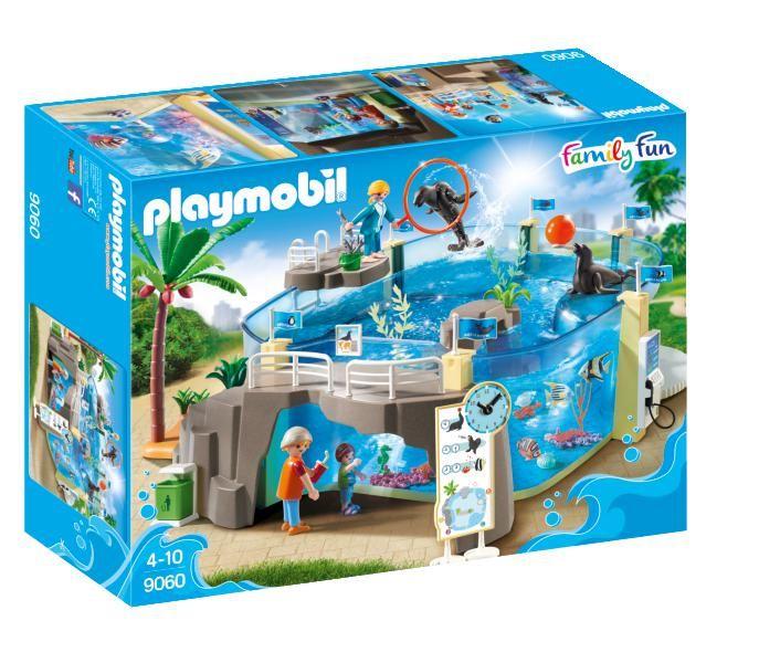 Acvariu playmobil family fun