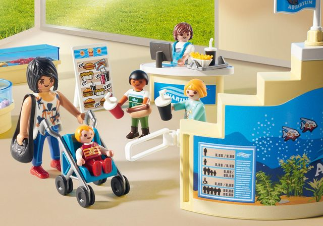Magazin acvariu playmobil family fun - 2