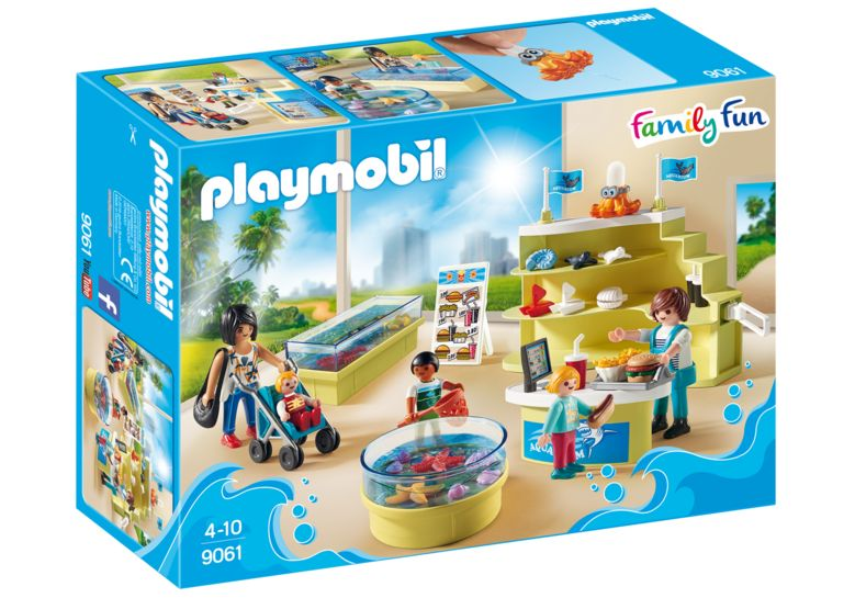 Magazin acvariu playmobil family fun