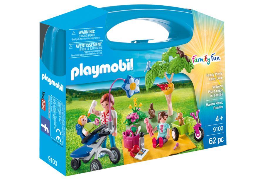 Picnic in familie set portabil playmobil family fun