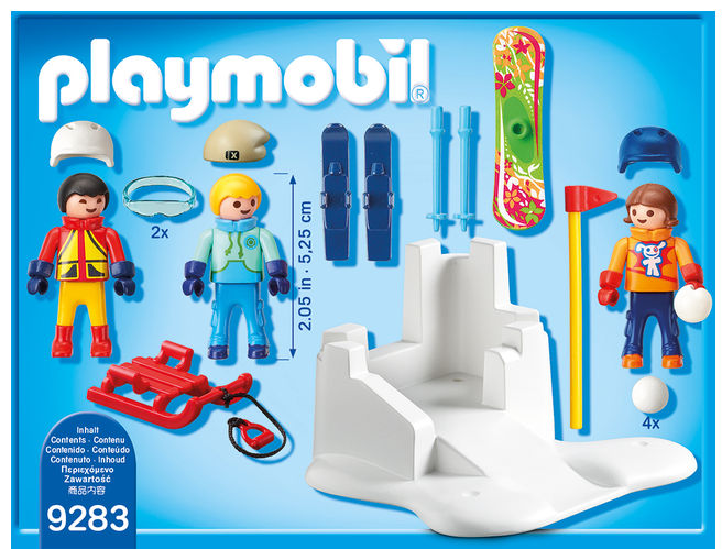 Bataie cu zapada playmobil family fun - 1