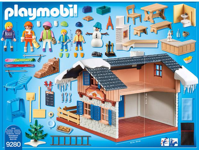 Cabana schiorilor playmobil family fun - 1