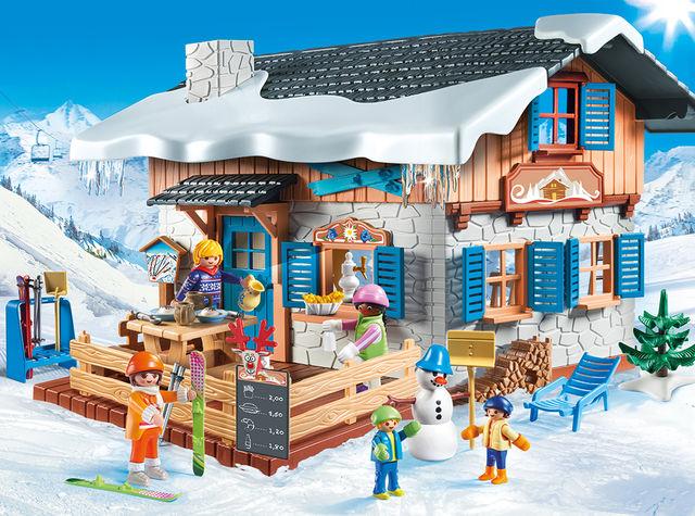 Cabana schiorilor playmobil family fun - 2