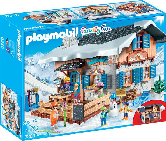 Cabana schiorilor playmobil family fun