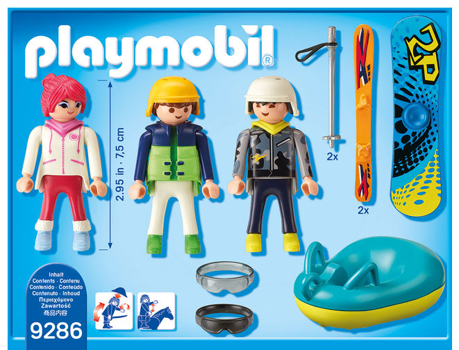 Iarna pe partie playmobil family fun - 1