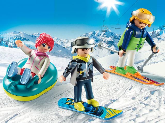 Iarna pe partie playmobil family fun - 2
