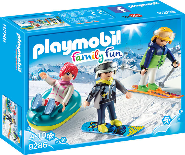 Iarna pe partie playmobil family fun