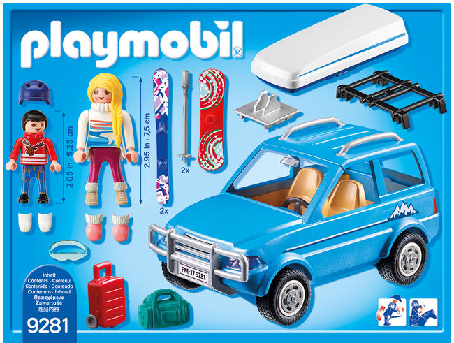 Schiori si masina de teren playmobil family fun - 2