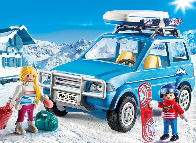 Schiori si masina de teren playmobil family fun - 1
