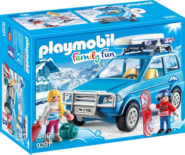Schiori si masina de teren playmobil family fun