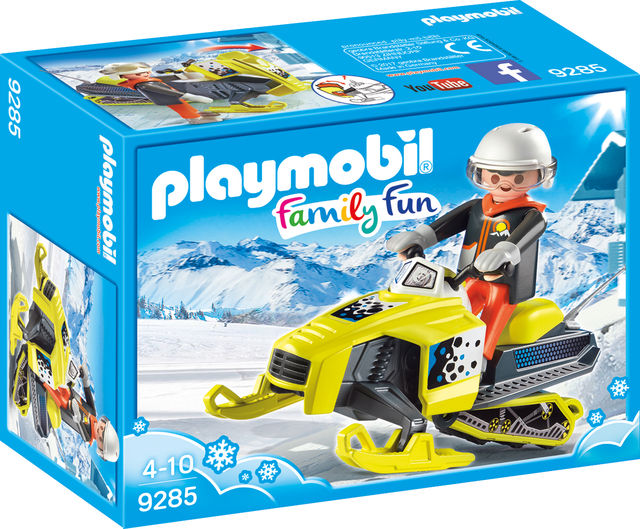 Snowmobil playmobil family fun