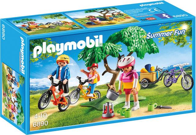 Excursie pe biciclete playmobil summer fun imagine