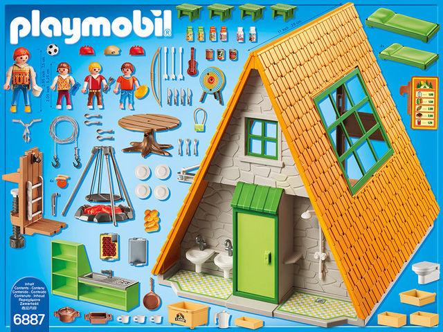 Zona de camping playmobil summer fun - 1