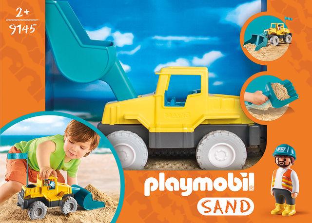 Excavator playmobil sand - 2