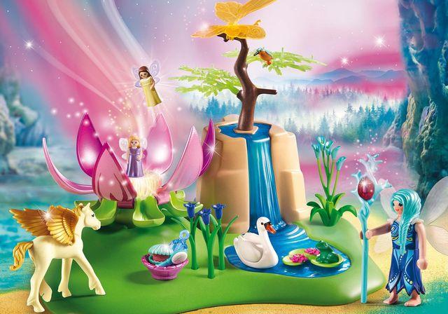 Fantana fermecata a zanelor playmobil fairies - 3