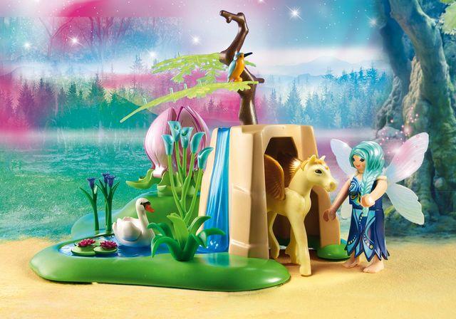 Fantana fermecata a zanelor playmobil fairies - 2