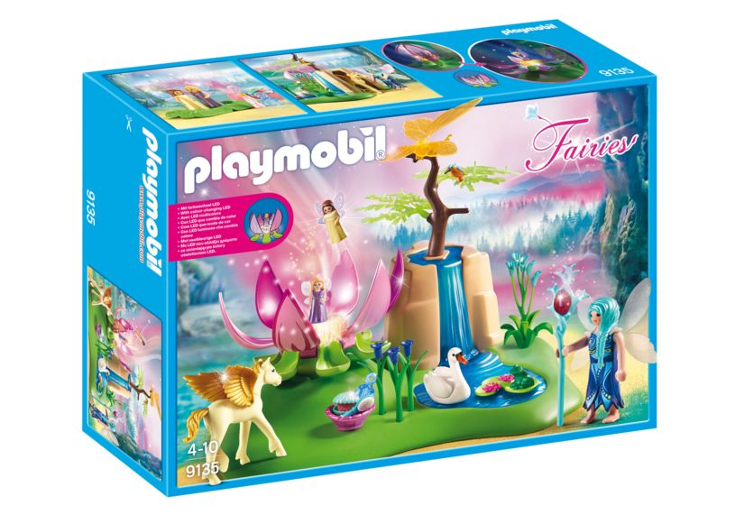 Fantana fermecata a zanelor playmobil fairies